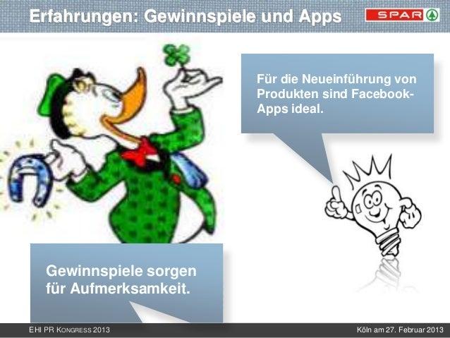 Erfahrungen: Gewinnspiele und Apps                          Für die Neueinführung von                          Produkten s...