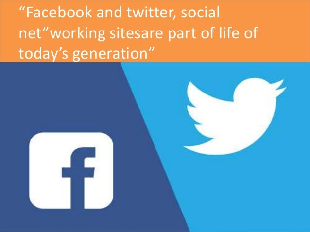 compare and contrast facebook vs twitter Adapting our social media strategy based on engagement differences on  facebook vs twitter.