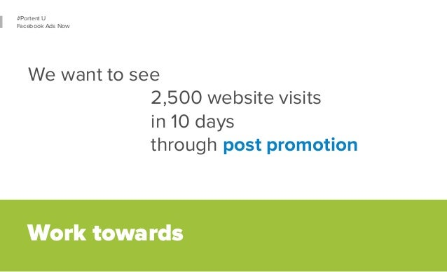 37  #Portent U  Facebook Ads Now  Let's drive on-site conversions.  We want  10,000 transactions  at a CPA of $10  in Q3 o...