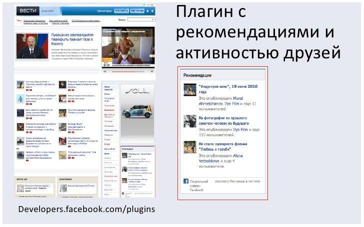 Facebook в России: Итоги 2010 года Slide 13
