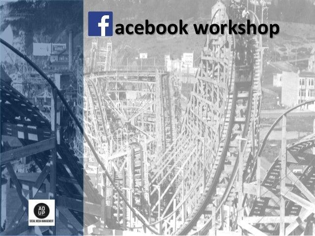 acebook  workshop