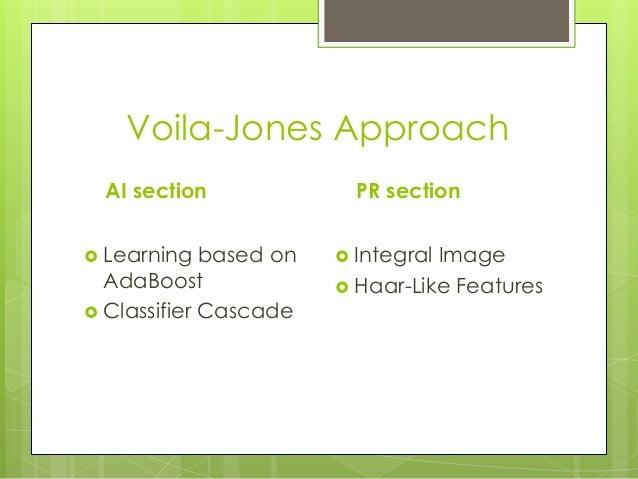 viola jones face detection algorithm pdf