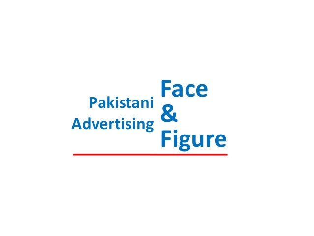 Face Pakistani & Advertising Figure