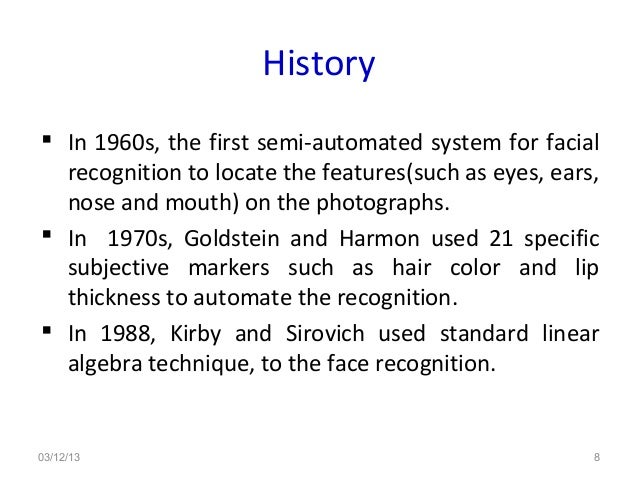 Face recognition ppt