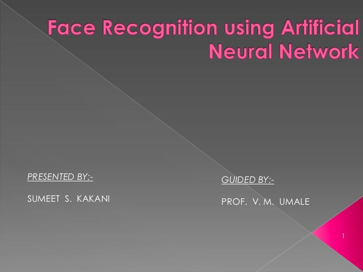 face recognition and detection using neural networks