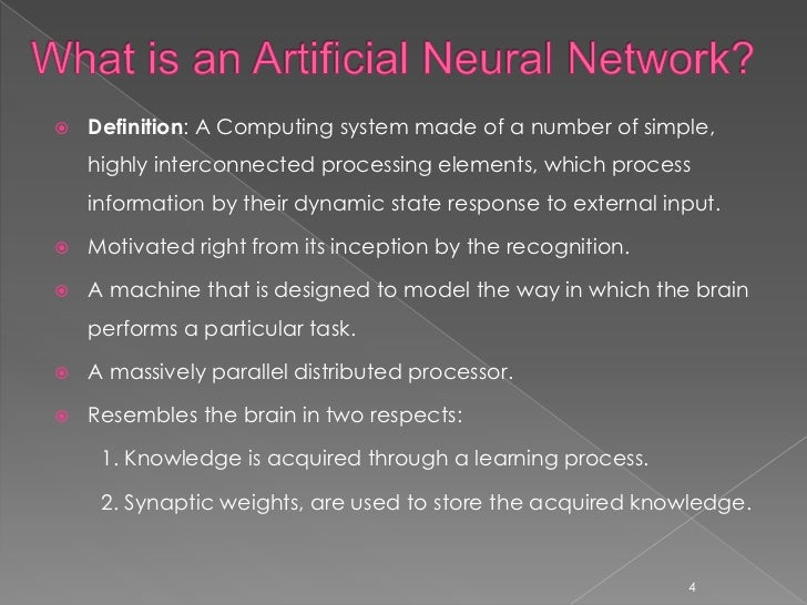A Basic Introduction To Neural Networks