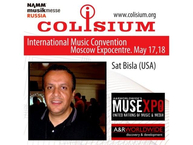 COLISIUM 2013 Speakers