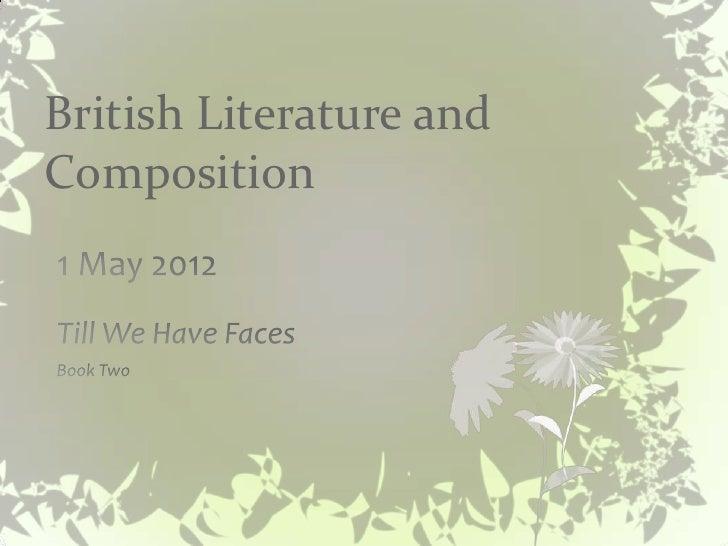 British Literature andComposition