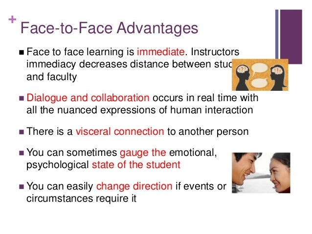 online vs face to face learning The question of whether online  versus face‐to‐face learning formats.