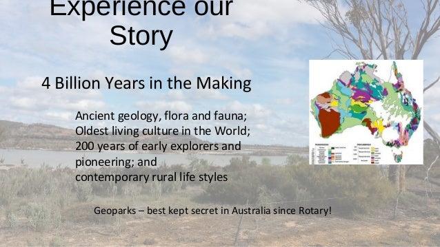 Geoparks Initiatives in Western Australia - Alan Briggs Slide 2