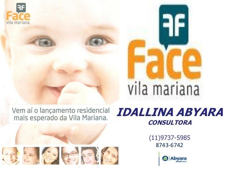 IDALLINA ABYARA    CONSULTORA    (11)9737-5985      8743-6742