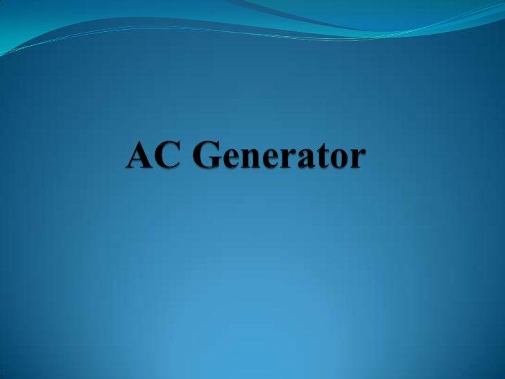 AC Generator<br />