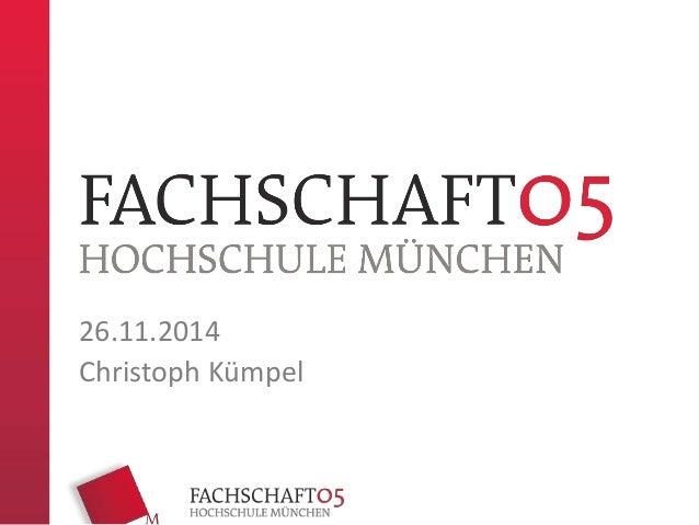 26.11.2014  Christoph Kümpel