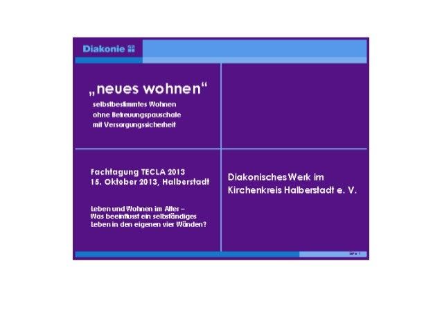 Diakonisches Werk im Kirchenkreis Halberstadt e.V.  Unsere Region  Der Landkreis Harz • • • •  Stadt Halberstadt ca. 42.70...