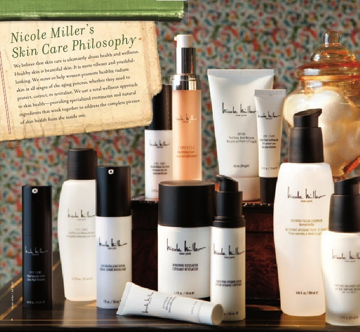 Nicole miller facial products foto 878