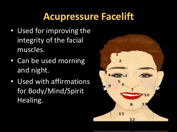 Facial Acupressure Slide Show