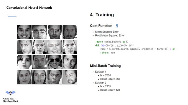 Facial detection by CNN(Convolution Neural Network) in Kaggle