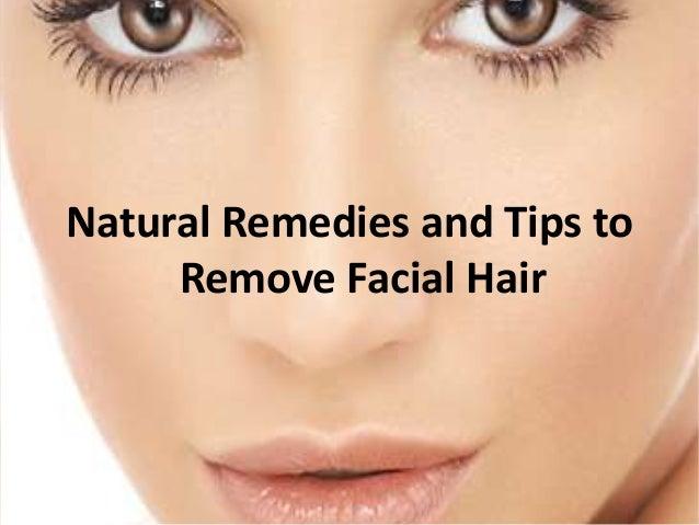 Natural Methods To Remove Facial Hair