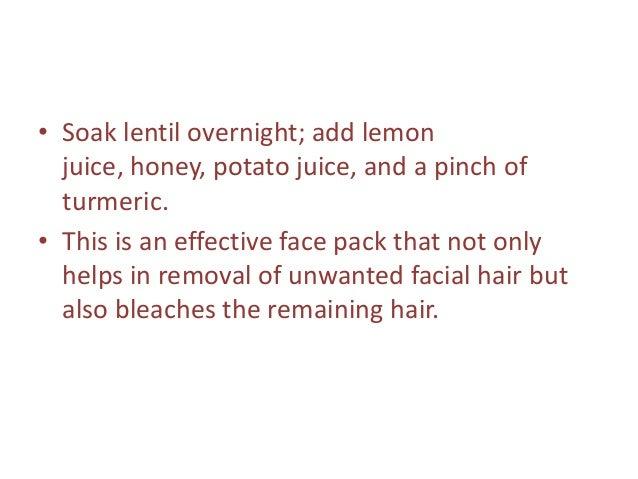 Natural Way To Get Rid Of Thick Facial Hair