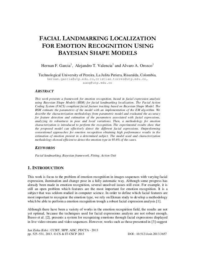 Jan Zizka (Eds) : CCSIT, SIPP, AISC, PDCTA - 2013 pp. 525–531, 2013. © CS & IT-CSCP 2013 DOI : 10.5121/csit.2013.3657 FACI...