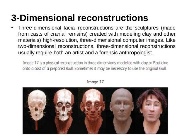 Facial reconstruction materials