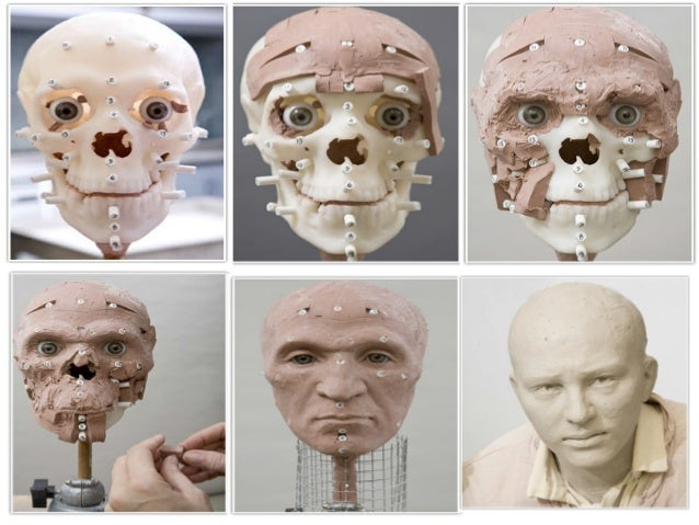 Forensic facial reconsrtuction