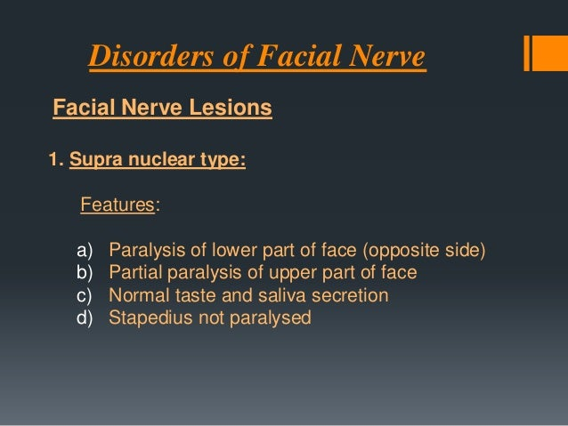 Birth Causes   Facial Nerve Injury from Birth Trauma    Trauma (forceps delivery)    Congenital Facial Palsy Mobius syn...