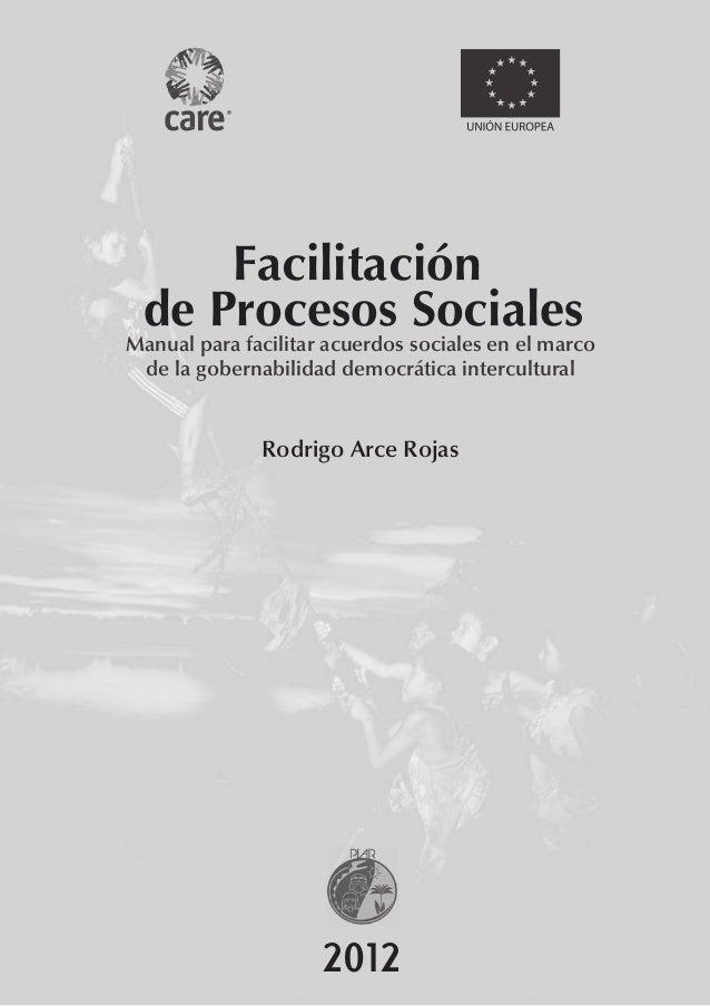 Facilitacion de procesos sociales