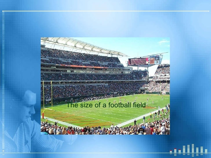 How big is an acre of land.. The size of a football field