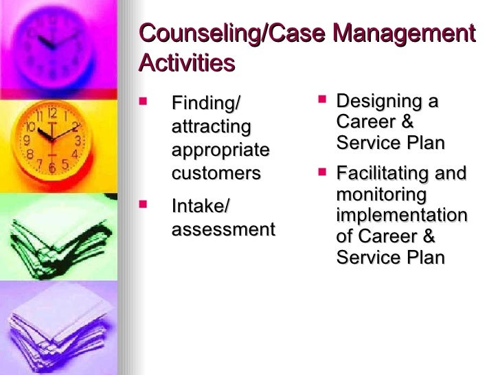 Facilitating case management