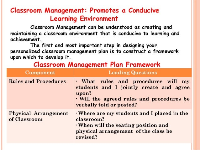 Focus on These Four Areas to Create a Classroom Environment Conducive to Learning