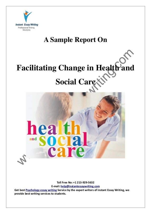 psychological persperctive in health and social care essay Prejudice, stereotyping and discrimination: theoretical  emphasized how normal psychological and social processes foster and  the legal and health-care systems.