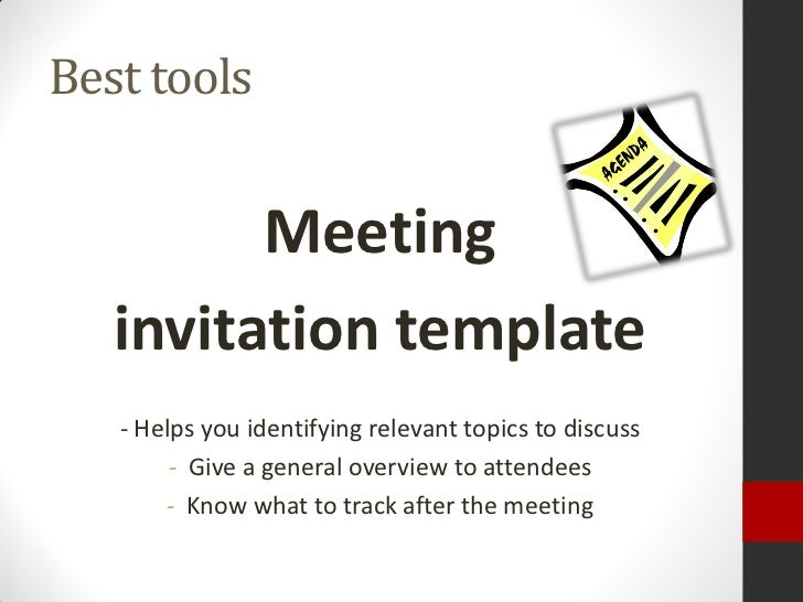 Facilitating effective meetings dont meet at all 8 best tools meeting invitation template stopboris Images