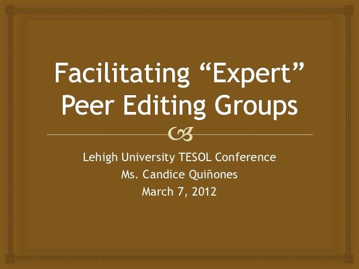 Facilitating and managing the group