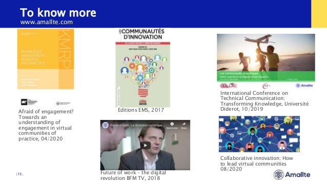 To know more  15. Éditions EMS, 2017 International Conference on Technical Communication: Transforming Knowledge, Universi...