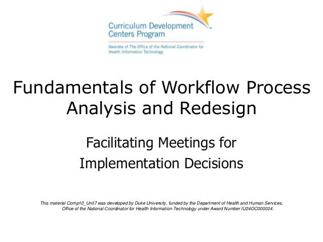 Fundamentals of Workflow Process     Analysis and Redesign                     Facilitating Meetings for                  ...