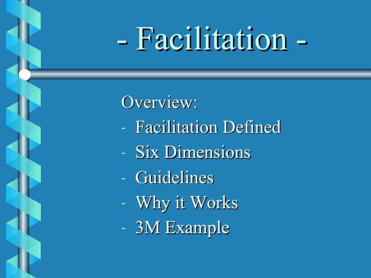 Facilitation[1] Slide 2