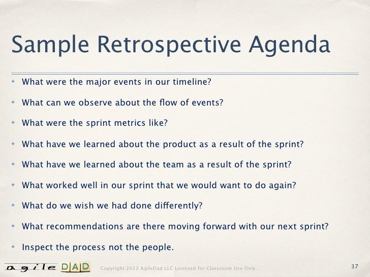 sprint retrospective meeting template - facilitation foundations a guide to effective agile meetings