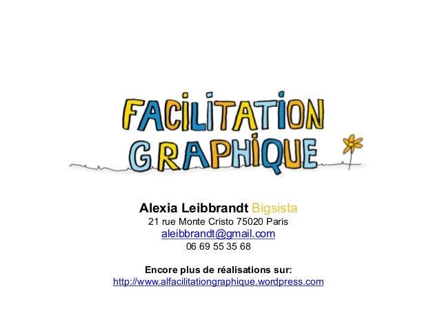 Alexia Leibbrandt Bigsista 21 rue Monte Cristo 75020 Paris aleibbrandt@gmail.com 06 69 55 35 68 Encore plus de réalisation...