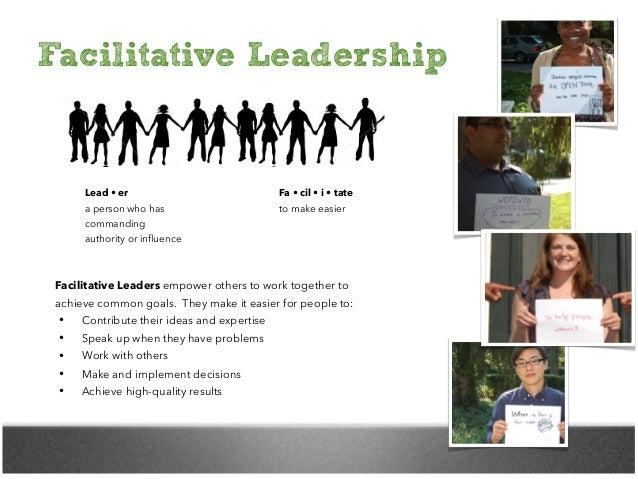 Facilitative Leadership Slide 2