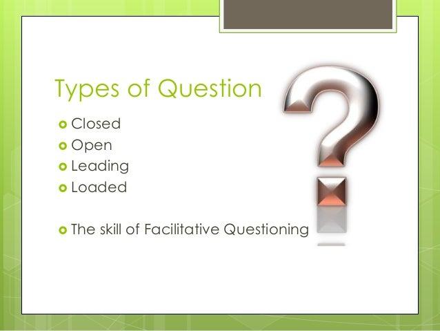 Facilitative Questions Slide 2