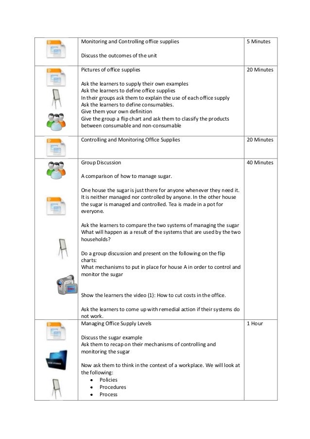 facilitator guide for a business administration session rh slideshare net Activity Icon Facilitator Role Icons