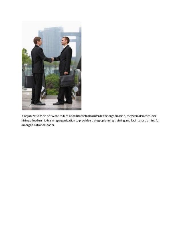 Facilitator training options for improving professional skills Slide 3