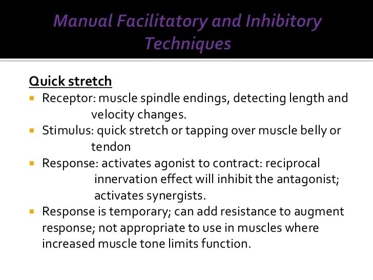 Bobath Technique For Spasticity
