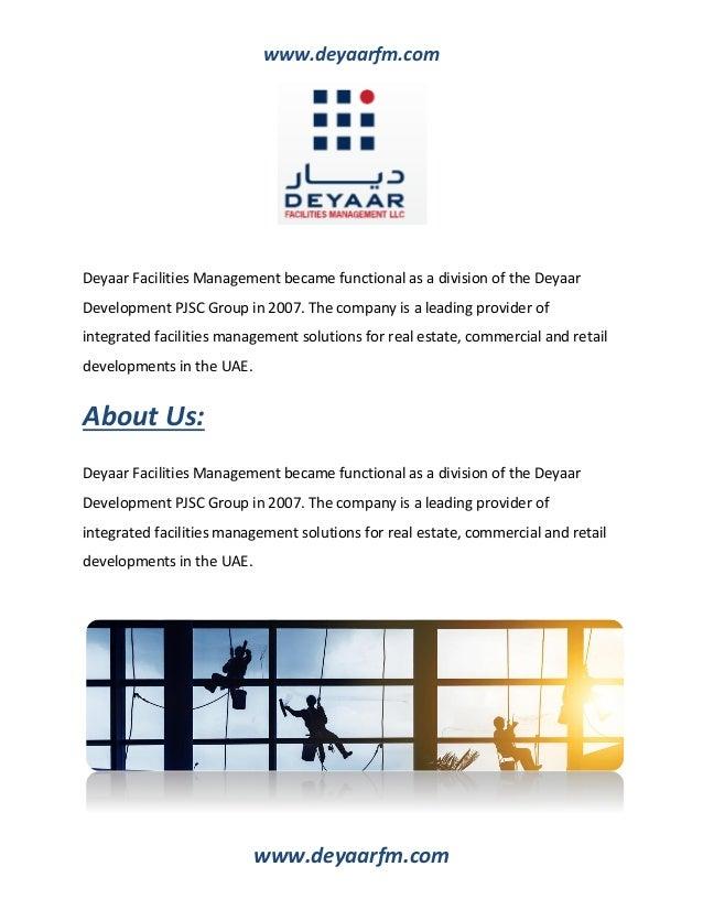 Facilities management companies in Dubai