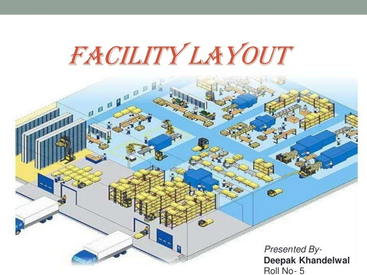 FACILITY LAYOUT<br />Presented By-<br />Deepak Khandelwal<br />Roll No- 5<br />