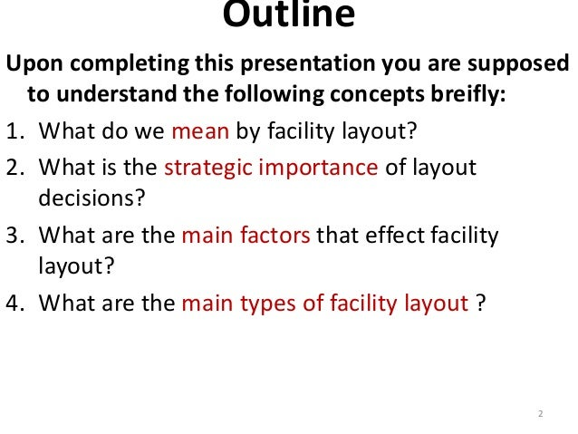 Outline  Upon completing this presentation you are supposed  to understand the following concepts breifly:  1. What do we ...