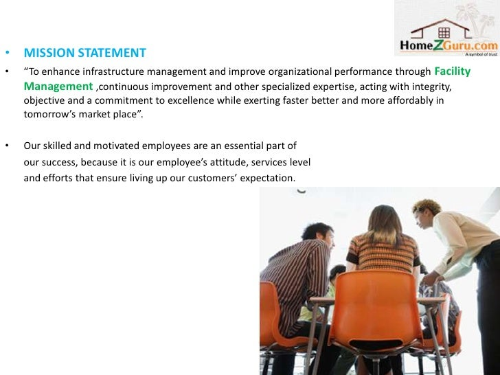 """• MISSION STATEMENT•   """"To enhance infrastructure management and improve organizational performance through Facility    Ma..."""