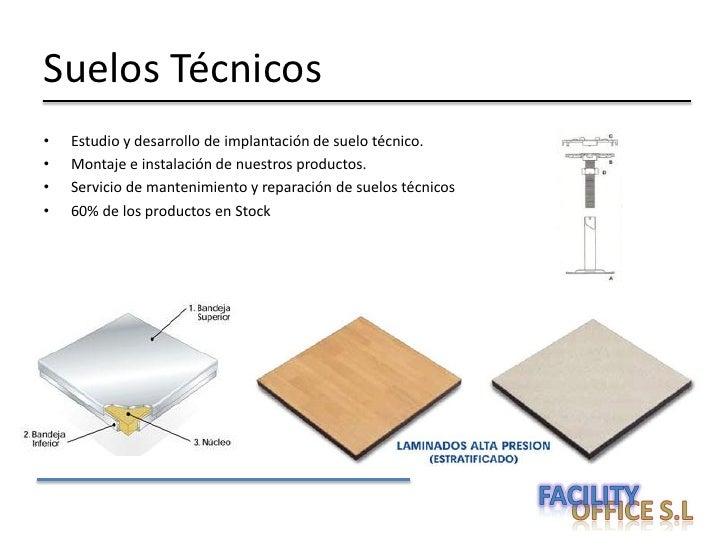 Facility office sok - Suelos tecnicos precios ...