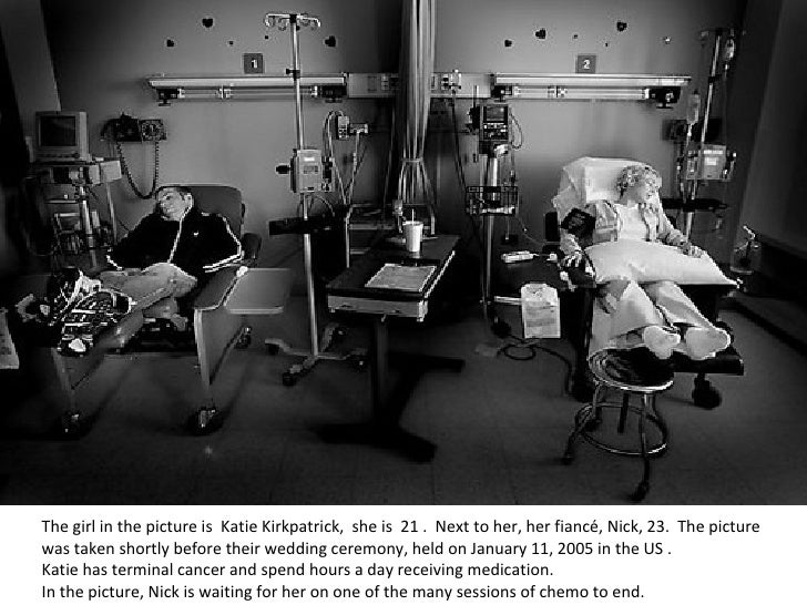 The girl in the picture is Katie Kirkpatrick, she is 21 . Next to her, her fiancé, Nick, 23.  The picture was taken sh...